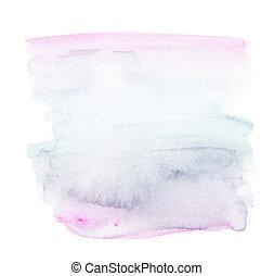 abstratos, aquarela, splash., molhados, watercolour, gota, para, seu, design.