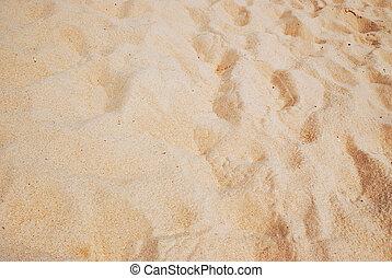 abstratos, areia praia, fundo