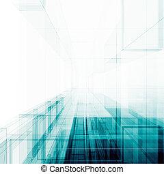 abstratos, arquitetura, fundo