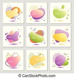 abstratos, backgrounds., vetorial, jogo, luminoso, illustration.