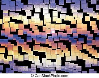 abstratos, backgroung, amanhecer