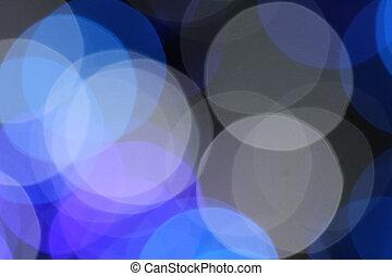 abstratos, bokeh, blurry experiência