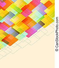 abstratos, bokeh, fundo, efeito