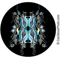 abstratos, borboleta