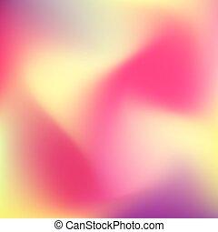 abstratos, borrão, colora experiência