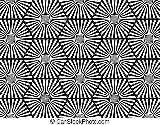 abstratos, branca, pretas, linha, fundo