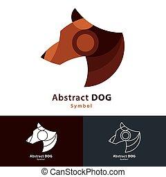 abstratos, cão