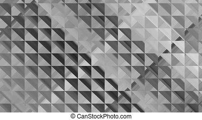 abstratos, cinzento, metal, fundo