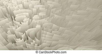 abstratos, cobertura