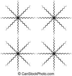 abstratos, cobra, x4, crucifixos