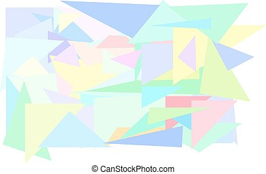 abstratos, colora experiência