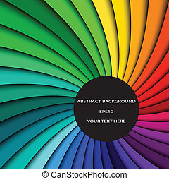 abstratos, colora experiência, espectro, linhas