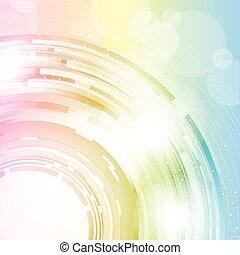 abstratos, colorido