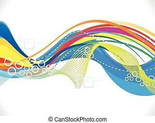 abstratos, coloridos, artisticos, onda