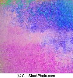 abstratos, coloridos, vindima, fundo