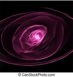 abstratos, cor-de-rosa, experiência., vetorial