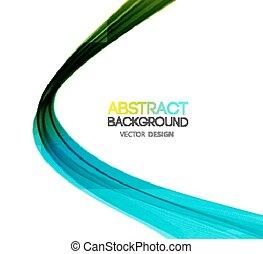abstratos, cor, linhas, experiência.
