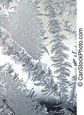 abstratos, cristais gelo