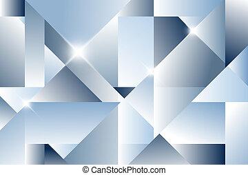 abstratos, cubismo, fundo