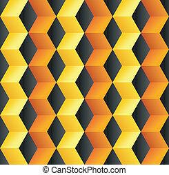 abstratos, cubo, coloridos, fundo