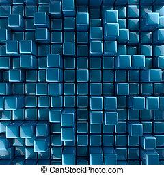 abstratos, cubos, fundo