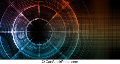 abstratos, digital