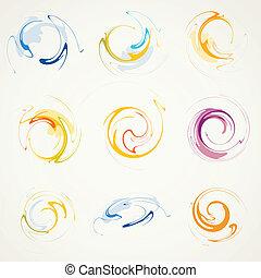 abstratos, elementos