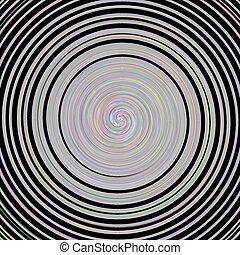 abstratos, espiral, textura