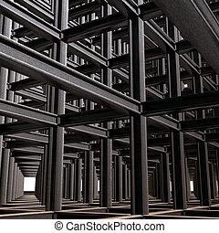 abstratos, estrutural