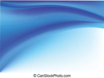 abstratos, experiência azul