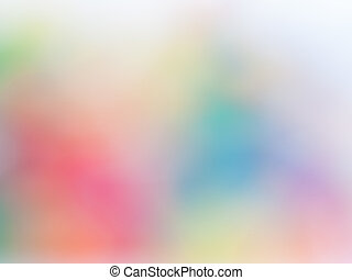 abstratos, experiência blurry