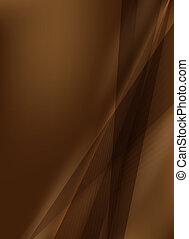 abstratos, experiência marrom