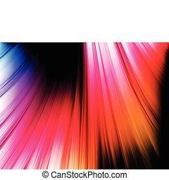abstratos, experiência preta, coloridos, ondas