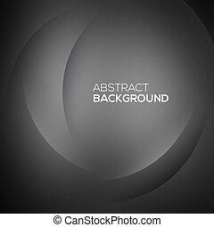 abstratos, experiência preta