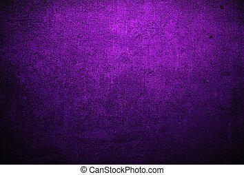 abstratos, experiência roxa, ou, tecido, com, grunge, fundo,...
