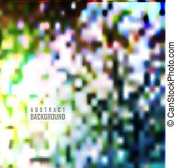 abstratos, experiência., sombras, e, borrão, fundo