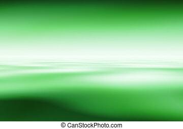 abstratos, experiência verde, computação gráfica