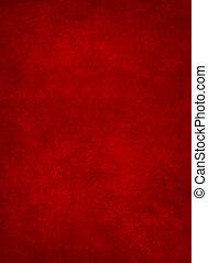 abstratos, experiência vermelha