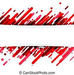 abstratos, experiência vermelha, white.