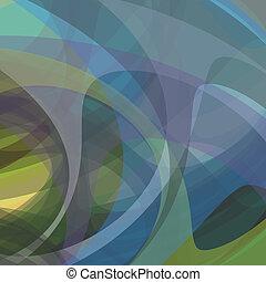 abstratos, fantasia, formas, experiência., vetorial, eps10