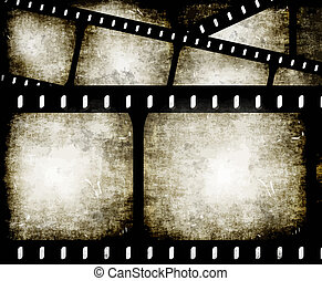 abstratos, filmstrip