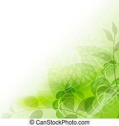 abstratos, floral, fundo