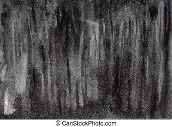 abstratos, fundo, aquarela