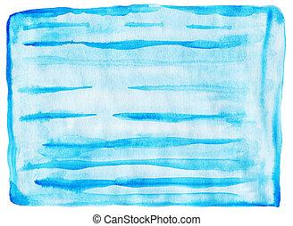 abstratos, fundo, aquarela, mão, desenhado