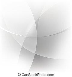 abstratos, fundo branco, prata