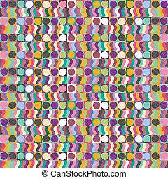 abstratos, fundo, coloridos