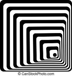 abstratos, fundo, com, linhas
