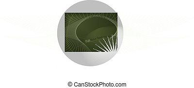 abstratos, fundo, composição