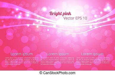 abstratos, fundo cor-de-rosa