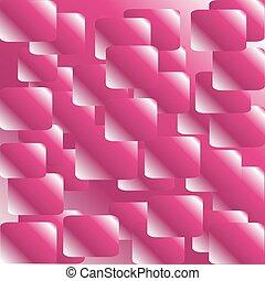 abstratos, fundo cor-de-rosa, vetorial
